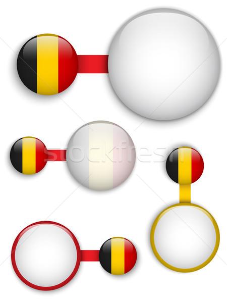 Vettore Belgio paese set business Foto d'archivio © gubh83