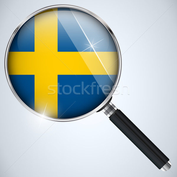 NSA USA Government Spy Program Country Sweden Stock photo © gubh83