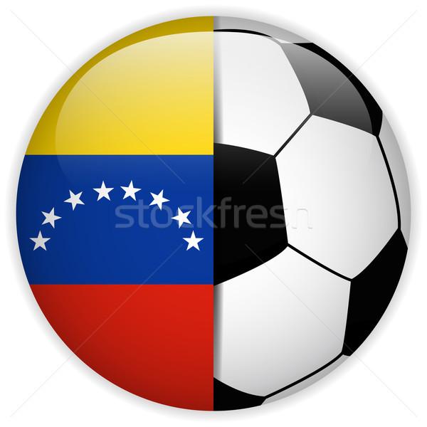 Venezuela bandeira futebol vetor mundo futebol Foto stock © gubh83