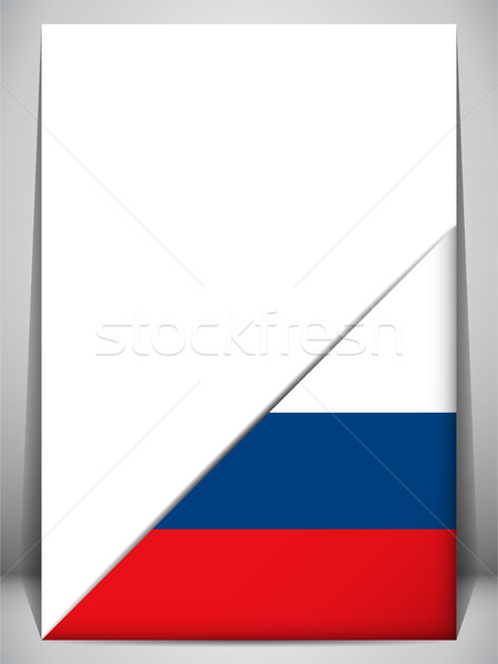 Россия стране флаг страница знак путешествия Сток-фото © gubh83