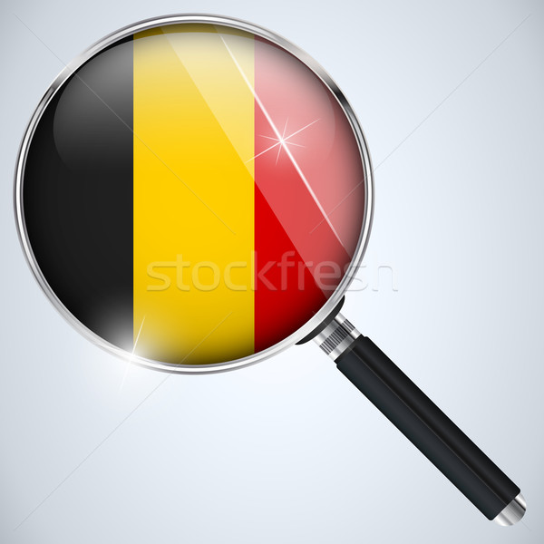 NSA USA Government Spy Program Country Belgium Stock photo © gubh83