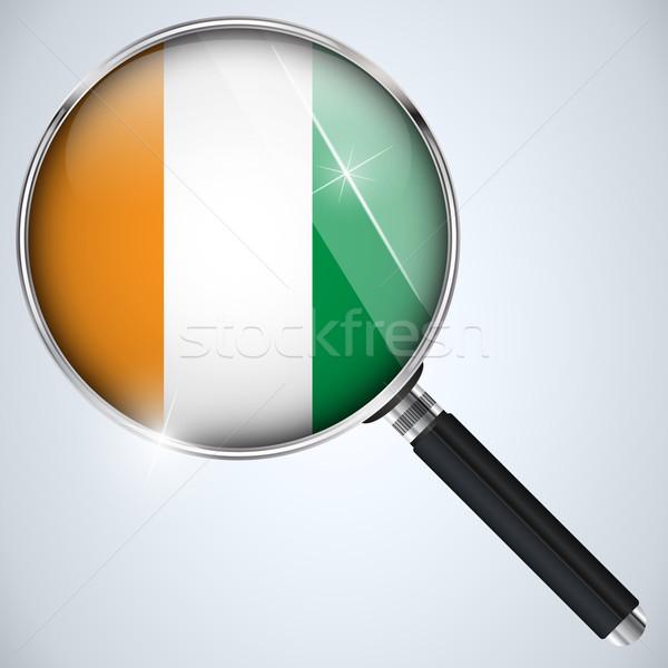 NSA USA Government Spy Program Country Ireland Stock photo © gubh83
