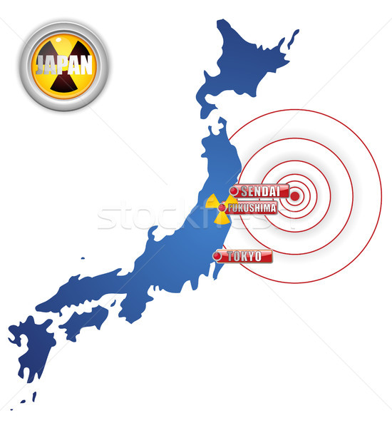 Japan Earthquake, Tsunami and Nuclear Disaster 2011 Stock photo © gubh83