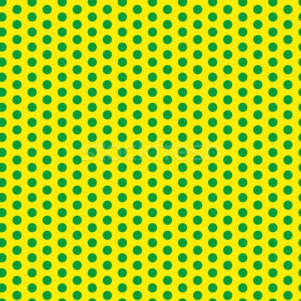 Stock fotó: Brazília · 2014 · végtelenített · zöld · citromsárga · vektor