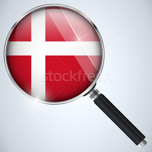 USA gouvernement espion programme pays Danemark Photo stock © gubh83