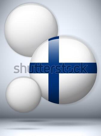 Vettore Finlandia paese set business Foto d'archivio © gubh83