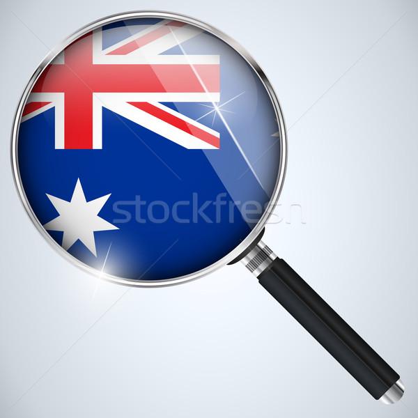 USA overheid spion programma land Australië Stockfoto © gubh83