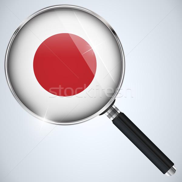 USA overheid spion programma land Japan Stockfoto © gubh83
