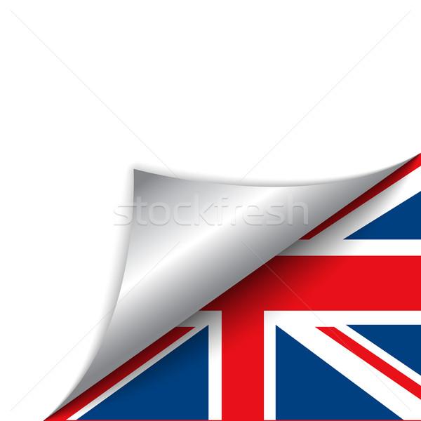 Reino Unido país bandera página vector signo Foto stock © gubh83