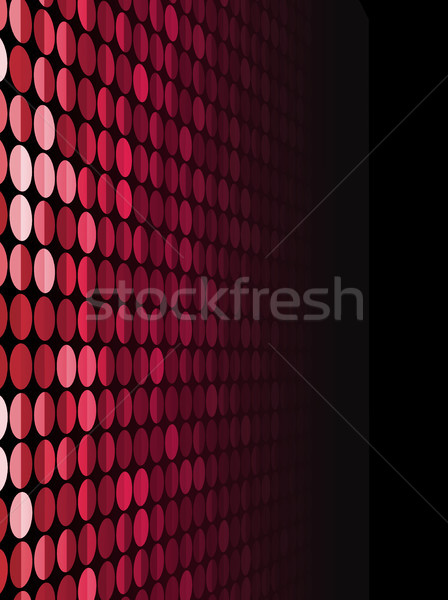Halftone Background in Perspective.  Stock photo © gubh83