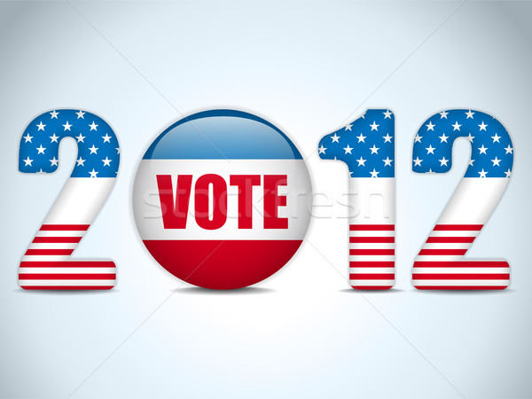 United States Election Vote Button Background. Stock photo © gubh83
