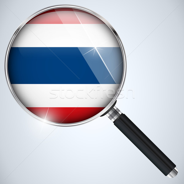 NSA USA Government Spy Program Country Thailand Stock photo © gubh83