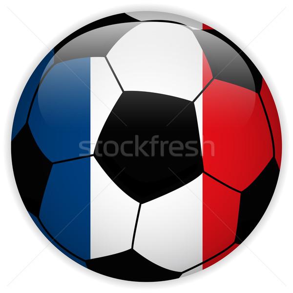 France pavillon ballon vecteur monde football Photo stock © gubh83
