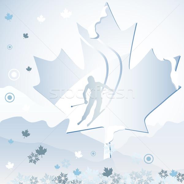Canadá inverno jogos Vancouver 2010 Foto stock © gubh83