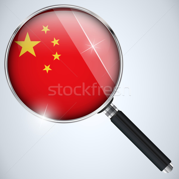 NSA USA Government Spy Program Country China Stock photo © gubh83