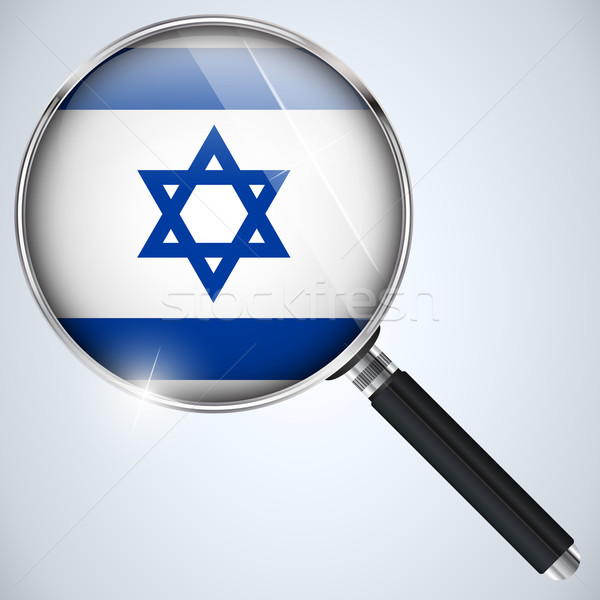 NSA USA Government Spy Program Country Israel Stock photo © gubh83