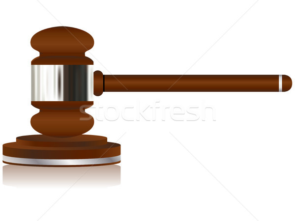 Wooden Justice Gavel Stock photo © gubh83
