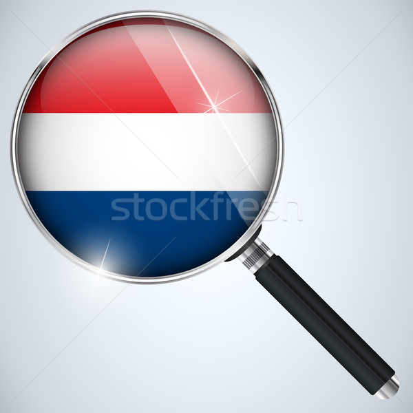 NSA USA Government Spy Program Country Netherlands Stock photo © gubh83