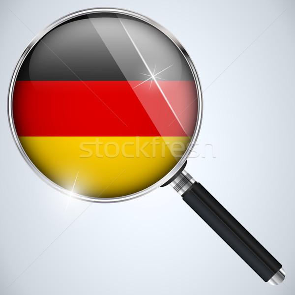NSA USA Government Spy Program Country Germany Stock photo © gubh83