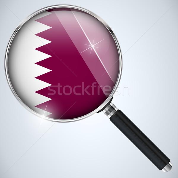 USA kormány kém program vidék Katar Stock fotó © gubh83