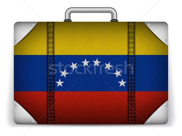 Venezuela Travel Luggage with Flag for Vacation Stock photo © gubh83