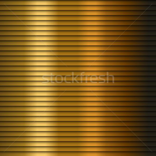金 ストライプ 黄色 ベクトル テクスチャ ストックフォト © gubh83