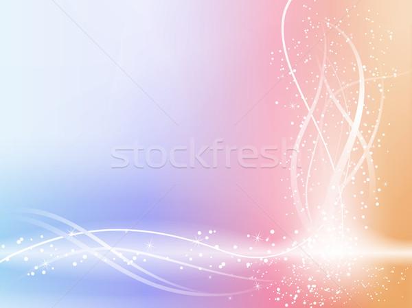 Hermosa pastel estrellas vector Foto stock © gubh83