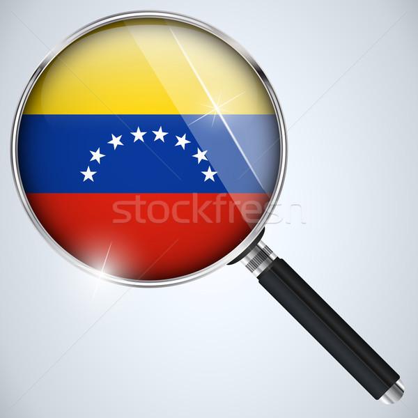 USA kormány kém program vidék Venezuela Stock fotó © gubh83