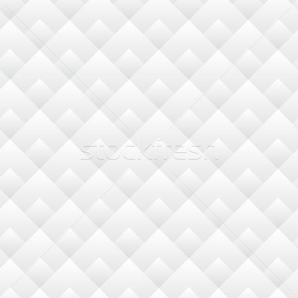 Seamless Diamond Pattern Black And White Lines Stock photo © gubh83
