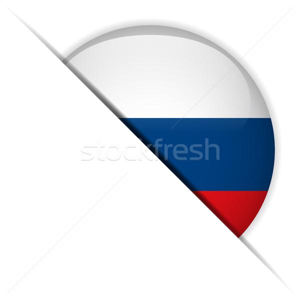 Сток-фото: Россия · флаг · кнопки · вектора · стекла
