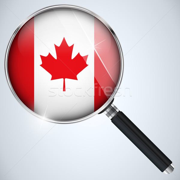 NSA USA Government Spy Program Country Canada Stock photo © gubh83