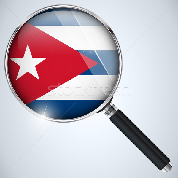 NSA USA Government Spy Program Country Cuba Stock photo © gubh83