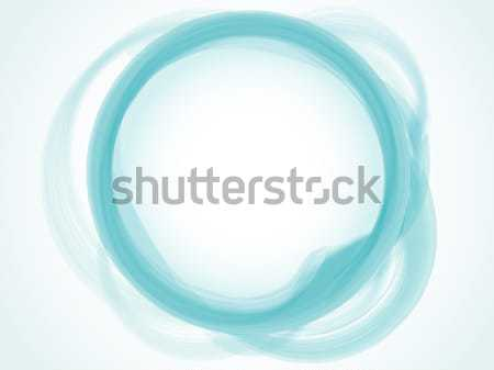 Abstract pastel Blauw cirkel vector Stockfoto © gubh83