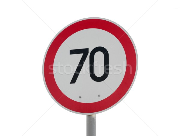 Speed limit Stock photo © Gudella