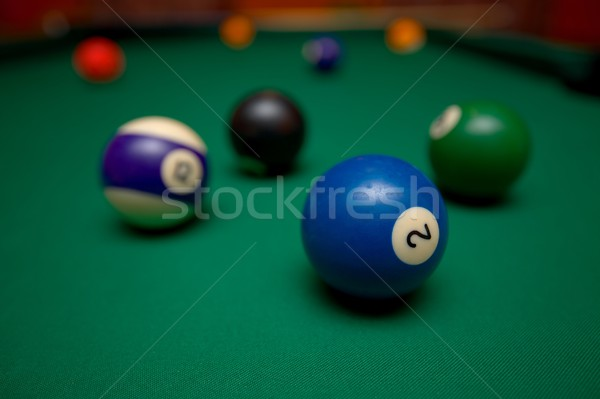 Billiards Stock photo © Gudella