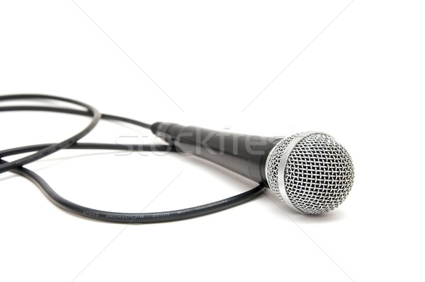 Microphone Stock photo © Gudella
