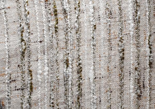 Detalhado textura branco cor tecido cortina Foto stock © Gudella