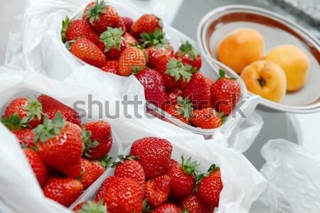 Stock photo: Strawberries
