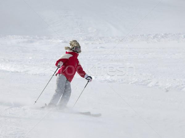 Skier Stock photo © Gudella