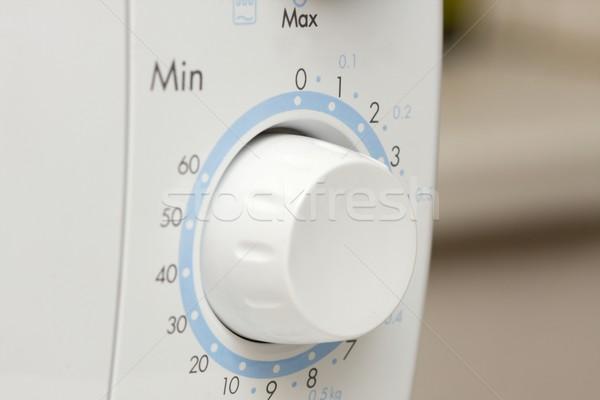 микроволновая печь время набирать номер печи дома кухне Сток-фото © Gudella