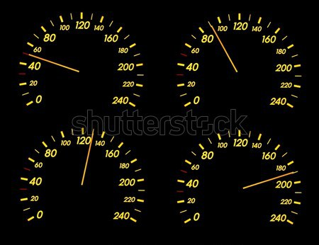 Speedometer Stock photo © Gudella