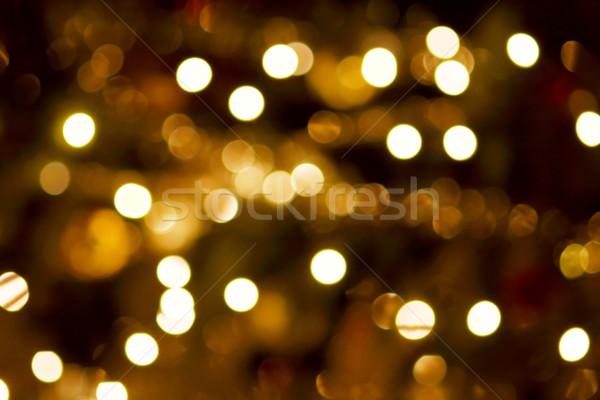 Luzes fora foco luz abstrato Foto stock © Gudella