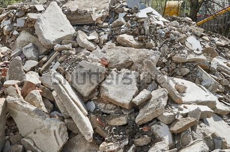 Debris Stock photo © Gudella