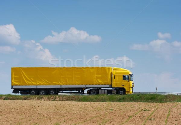 Truck Stock photo © Gudella