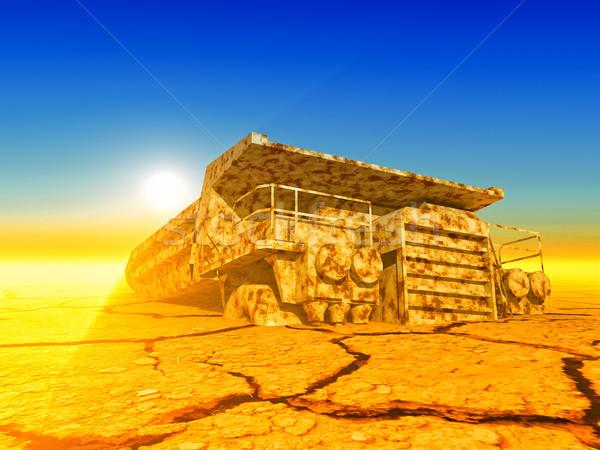 truck Stock photo © guffoto