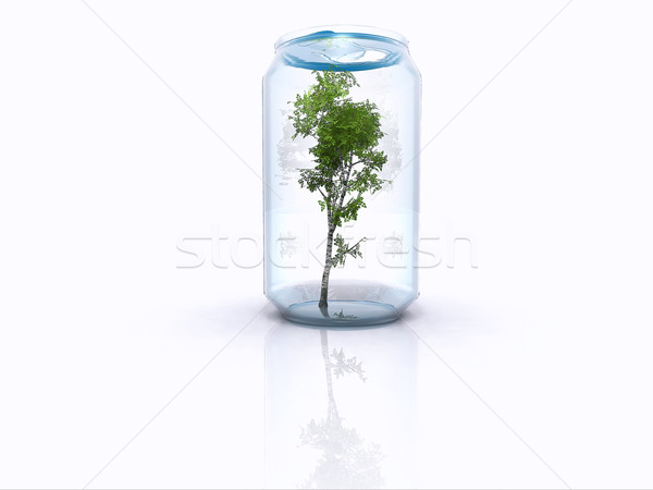 Recyclage nature flèche recycler pollution symbole Photo stock © guffoto