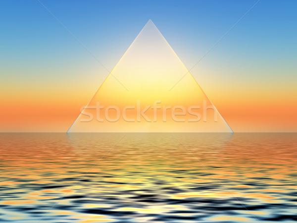 triangle Stock photo © guffoto