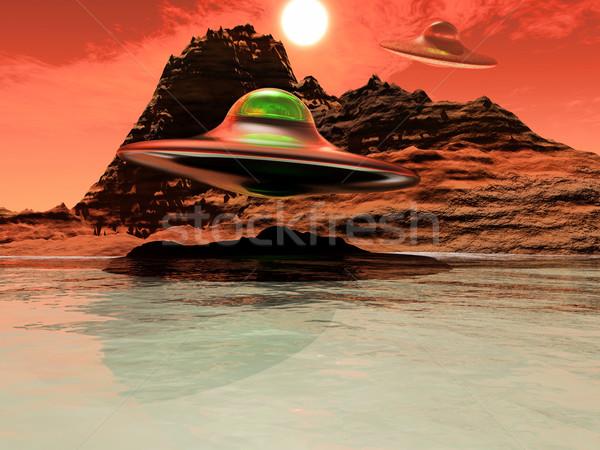 science-fiction Stock photo © guffoto