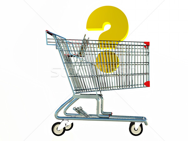 shopping cart Stock photo © guffoto