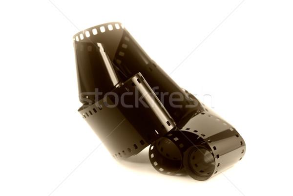 Film negatív retro fotó Stock fotó © guffoto